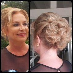 #maquillajemadrina #peinadomadrina #hairstyle