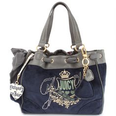 ☆ Juicy Couture - Love Your Couture Daydreamer Handbag - Blue ☆