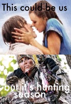 This could be us but..it's hunting season!