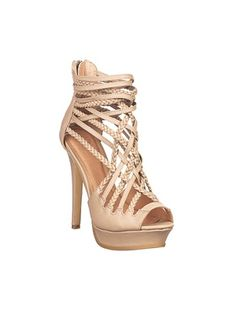 Spring's strappy sandals- Colin Stuart for Victoria's Secret
