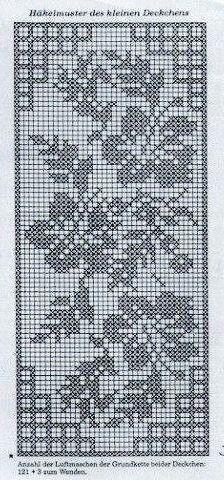 Lindos graficos para croche conduzido arasem fadinhas Crochet Curtains, Crochet Doilies, Crochet Tablecloth, Crochet Art, Crochet Cross, Thread Crochet, Crochet Motif, Crochet Stitches, Double Knitting