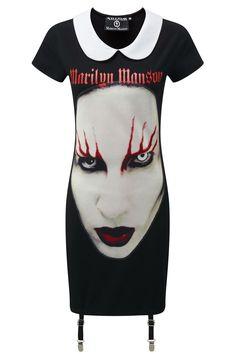 SPELL MASTER Suspender Dress - KILLSTAR x MARILYN MANSON