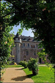 Château de La Roche-Jagu, Ploëzal in Côtes d'Armor, Brittany , France