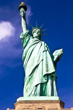 The statue of Liberty in NY
