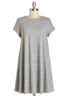 Static Felicity Tunic. Theres no doubt that your electric personality is behind your magnetism, and this grey static-print tunic proves that your style is just as attractive! #grey #modcloth