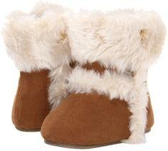 MICHAEL Michael Kors Kids - Baby Grace Boot Fur (Infant/Toddler) (Camel) - Footwear on shopstyle.com