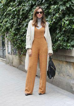 knit jumpsuit looks - Lady Addict Zara Jumpsuit, Jumpsuit Outfit, Two Piece Outfit, Wide Leg Jeans, Jumpsuits For Women, Flare Jeans, Trousers, Pants, Women Wear