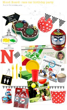 Race car Birthday party--look at the cute racetrack cake! Race Car Birthday, Cars Birthday Parties, Happy Birthday Me, Boy Birthday, Birthday Ideas, Transportation Party, Hot Wheels Party, Creative Party Ideas, Race Car Party