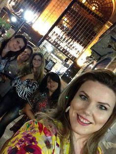 saindo para jantar em Buenos Aires!Maquiadoras so as tops
