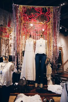 Decor Inspiration: Fall 2014 Store Displays | Free People Blog THIS is what i wanna do for a living...