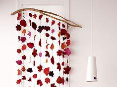 Vorhang aus Filz - Basteln für mehr Gemütlichkeit 1 - [LIVING AT HOME]