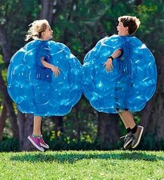 Bounce, bop, and bump with the Buddy Bounce Outdoor Play Ball. Step inside this translucent blue ball and let the full-bodied fun begin! Kids have a blast with this play ball that gets them moving and laughing, bumping and bouncing. Cool Baby, Festa Party, Outdoor Play, Outdoor Toys, Indoor Outdoor, White Elephant Gifts, Fun Games, Summer Fun, Cool Kids