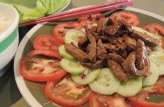 Beef Loc Lac - RECIPE from Cambodia    http://www.food.com/recipe/beef-lok-lak-cambodian-recipe-496461