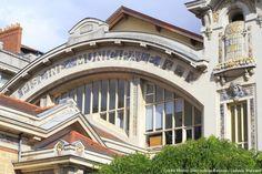 verrière piscine Saint-georges Saint Georges, Brittany, Art Nouveau, Mansions, House Styles, France, Nantes, Manor Houses, Villas