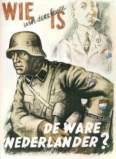 """Who is the true Dutchman?"" Germany distributed in the Netherlands c. 1939 -1945"