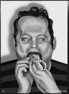 Vince Vaughn.  Sorry if this is mean, I really like Vince but this is too funny!