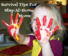 Poppy's Money Tree House: How to Survive the Stay at Home Mom (or Dad) Experience