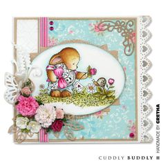 Pachela Studios Digi Stamp - Toby Tumble Just Because < Craft Shop | Cuddly Buddly Crafts