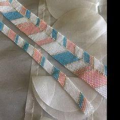 Peyote Bead Pen Pattern pattern for pen by Pilot in PDF Loom Bracelet Patterns, Bead Loom Bracelets, Peyote Beading, Bead Loom Patterns, Peyote Patterns, Jewelry Patterns, Beading Patterns, Stitch Patterns, Loom Beading