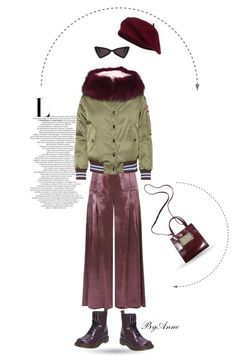 """""""One"""" by anne-977 ❤ liked on Polyvore featuring Temperley London, Dr. Martens and Miu Miu"""