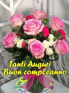 Buon Compleanno Fiore Immagini Table Decorations