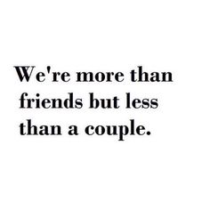 It started as a friendship, where more, a couple, and then less, now, now we are nothing. Not even acquaintance. Not even strangers.