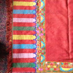 handmade pure pashmina khani zari shawls,scarfs for sale if anybody intrested call me or whats app me on this number +91 9086693168 or send me mail on this emale id : shahmuneer97@gmail.com