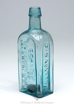 Dr. H. Austin's -  Genuine -  Ague Balsam -  Plymouth.O -  Medicine Bottle, America, 1840-1860 -
