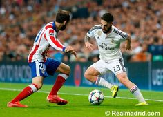 Real Madrid 1-0 Atlético de Madrid at Estadio Santiago Bernabéu #HalaMadrid