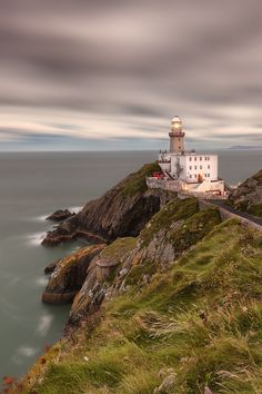 Baily Lighthouse, Dublin, Ireland by Peter Krocka on Ireland Vacation, Ireland Travel, The Places Youll Go, Places To See, County Cork Ireland, Emerald Isle, Asia Travel, Dream Vacations, Wonders Of The World
