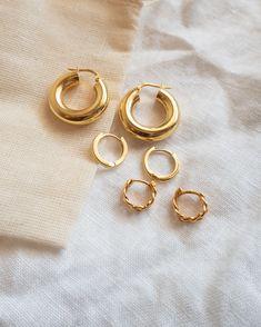Ear Jewelry, Gold Jewelry, Fine Jewelry, Handmade Accessories, Fashion Accessories, Fashion Jewelry, Delicate Jewelry, Ear Piercings, Jewelry Stores