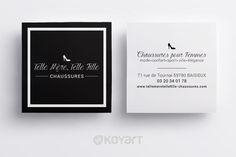 Creation Carte De Visite Boutique Chaussures A Baisieux 59