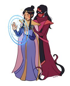 Anime Girlxgirl, Anime Art, Lin Beifong, Lapis And Peridot, Cute Lesbian Couples, Mysterious Places, She Ra Princess Of Power, Cool Pictures, Cool Art