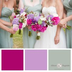 Pink, Lilac and Mint Wedding Colors, Wedding Photography, Allison Ragsdale Photography