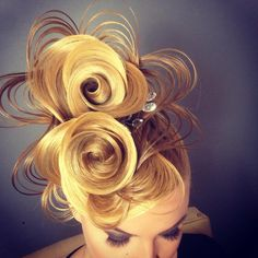 This is hair art!!