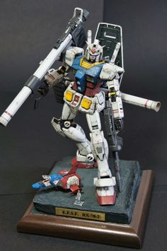 ymym's AMAZING WORK: RG 1/144 RX-78-2 Gundam A Baoa Qu Ver. Full Photo Review, Info | GUNJAP