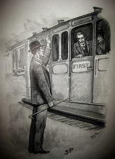 Sherlock Holmes and John Watson - Sidney Paget Book Illustration  2933 by Brechtbug, via Flickr