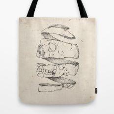 Twister Skull Tote Bag