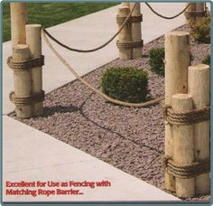 Just wanted to share some wonderful nautical landscaping ideas.  Nautical Pilings make a lovely garden accent see for yourself.  Pilings a...