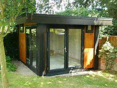 Garden Offices, Studios, Accomodation.fully installed