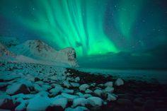 ver una aurora boreal <3