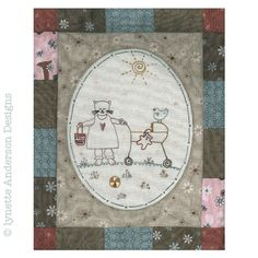 - Comforts of Home - Month 3 Linnet, Vintage World Maps, Patches, Diy Crafts, Embroidery, Green, How To Make, Fun, Scrappy Quilts