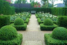 Garden Space on Pinterest | Hedges, Buxus and Formal Gardens
