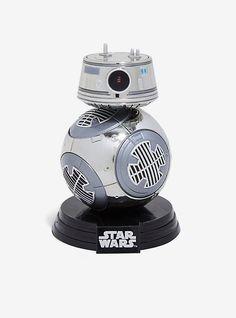 Funko Pop! Star Wars: The Last Jedi Chrome BB-9E Vinyl Bobble-Head - BoxLunch Exclusive,