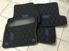 2016 FORD Focus RS Custom Aftermarket Floor Mat Set Hybrid Leather Carbon Fiber in eBay Motors, Parts & Accessories, Car & Truck Parts | eBay