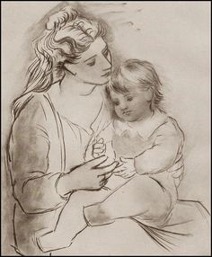 Image result for picasso drawings of women