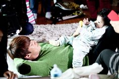Emergency Man and Woman BTS - Choi Jin Hyuk + Baby Gook