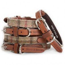Balmoral Check Tweed Dog Collar