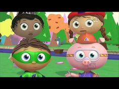 ▶ Super WHY! s01e17 Little Red Riding Hood SD DVD - YouTube