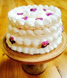 The Hirshon Viennese Spanische Windtorte...I saw this on Great British bake off, and it looked so amazing!